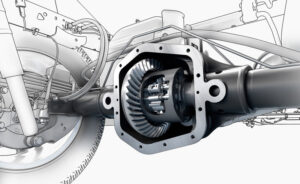 Автомобильный дифференциал: особенности конструкции и принцип работы