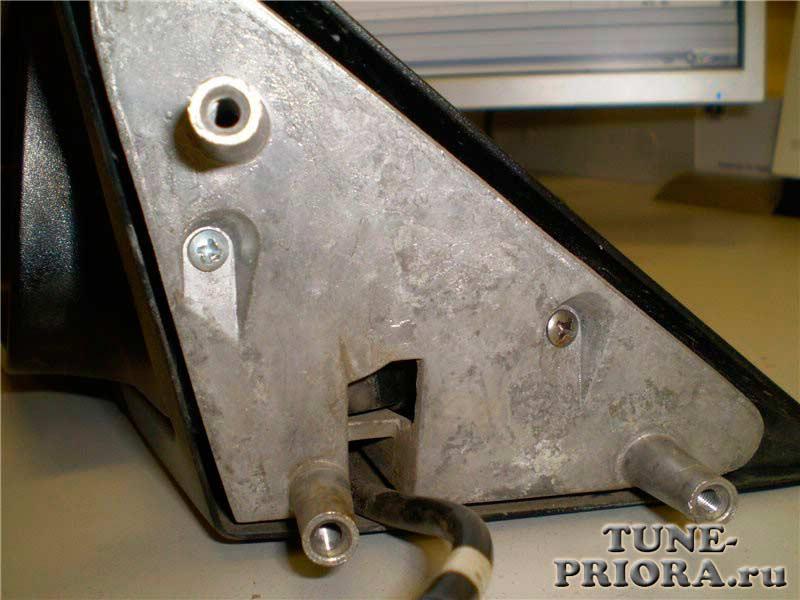 Как разобрать наружние зеркала на Лада Приора (priora)