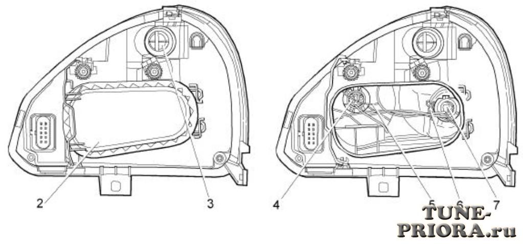 Как отличить Bosch или Киржач на приоре (priora)